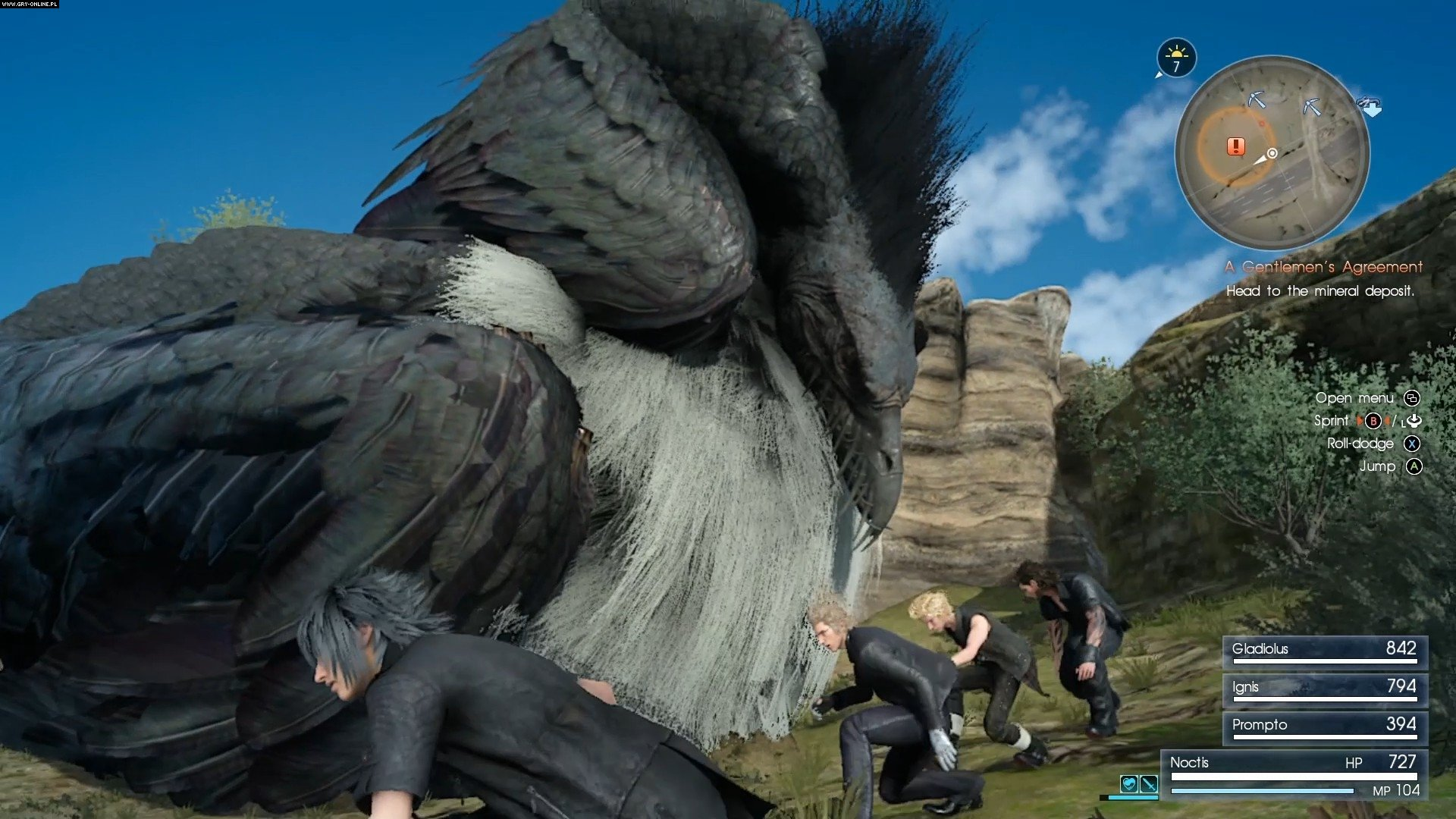 Final Fantasy XV PS4, XONE Gry Screen 245/393, Square-Enix / Eidos