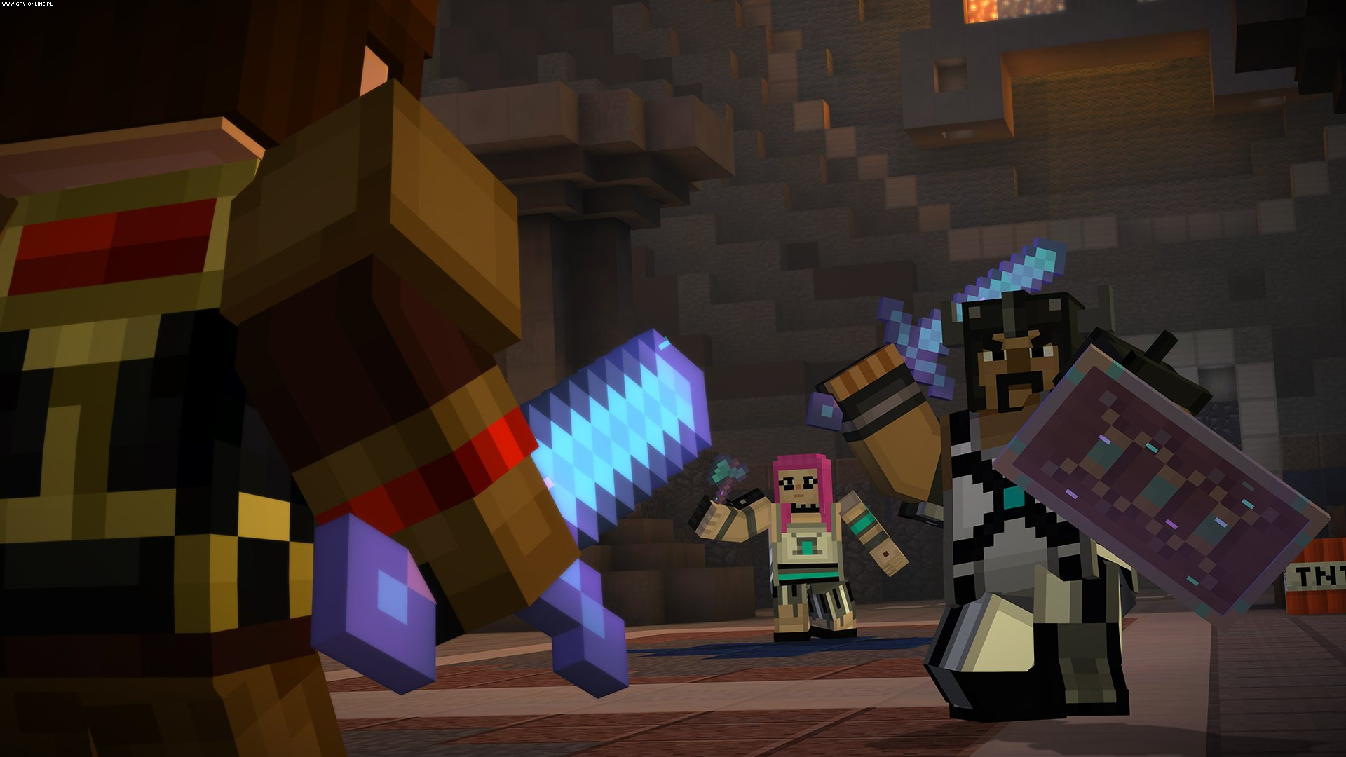 Minecraft: Story Mode - A Telltale Games Series - Season 1 PC, X360, PS3, PS4, XONE Gry Screen 3/54, Telltale Games