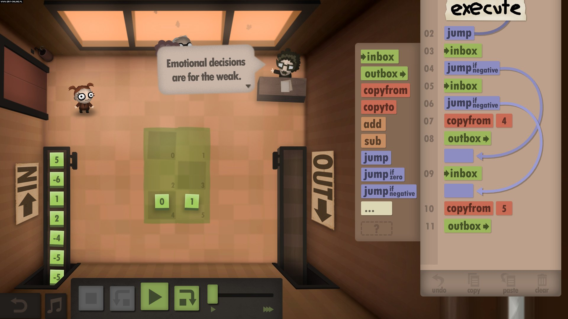 Human Resource Machine WiiU, PC Gry Screen 4/9, Tomorrow Corporation