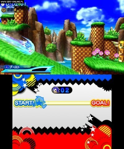 Sonic Generations 3DS Gry Screen 103/157, Sonic Team, SEGA