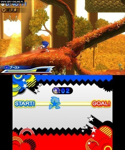 Sonic Generations 3DS Gry Screen 100/157, Sonic Team, SEGA