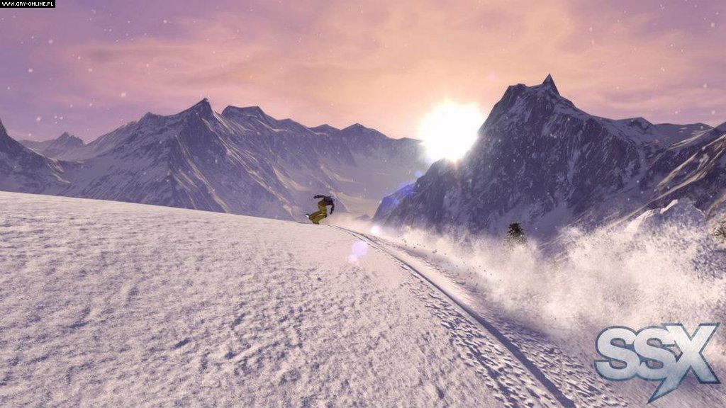 SSX X360, PS3 Gry Screen 18/54, EA Sports, Electronic Arts Inc.