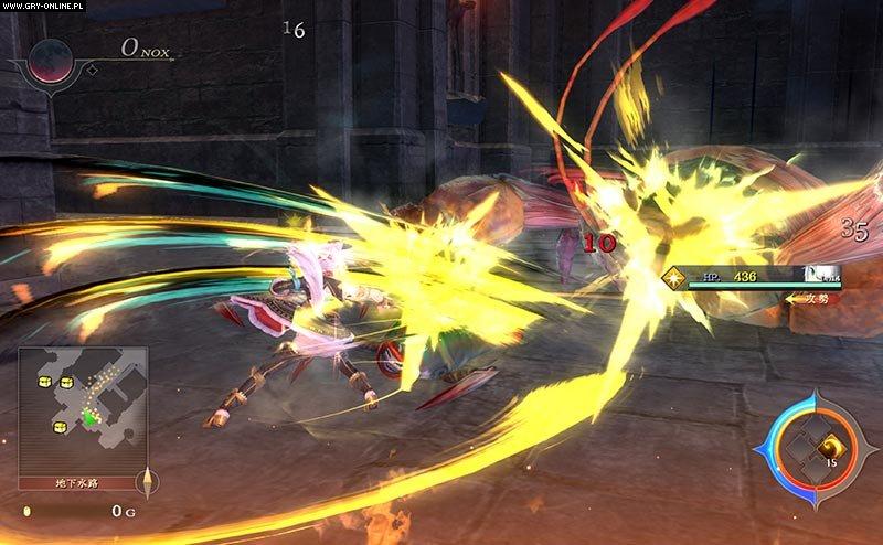 Ys IX: Monstrum Nox PS4 gameplay