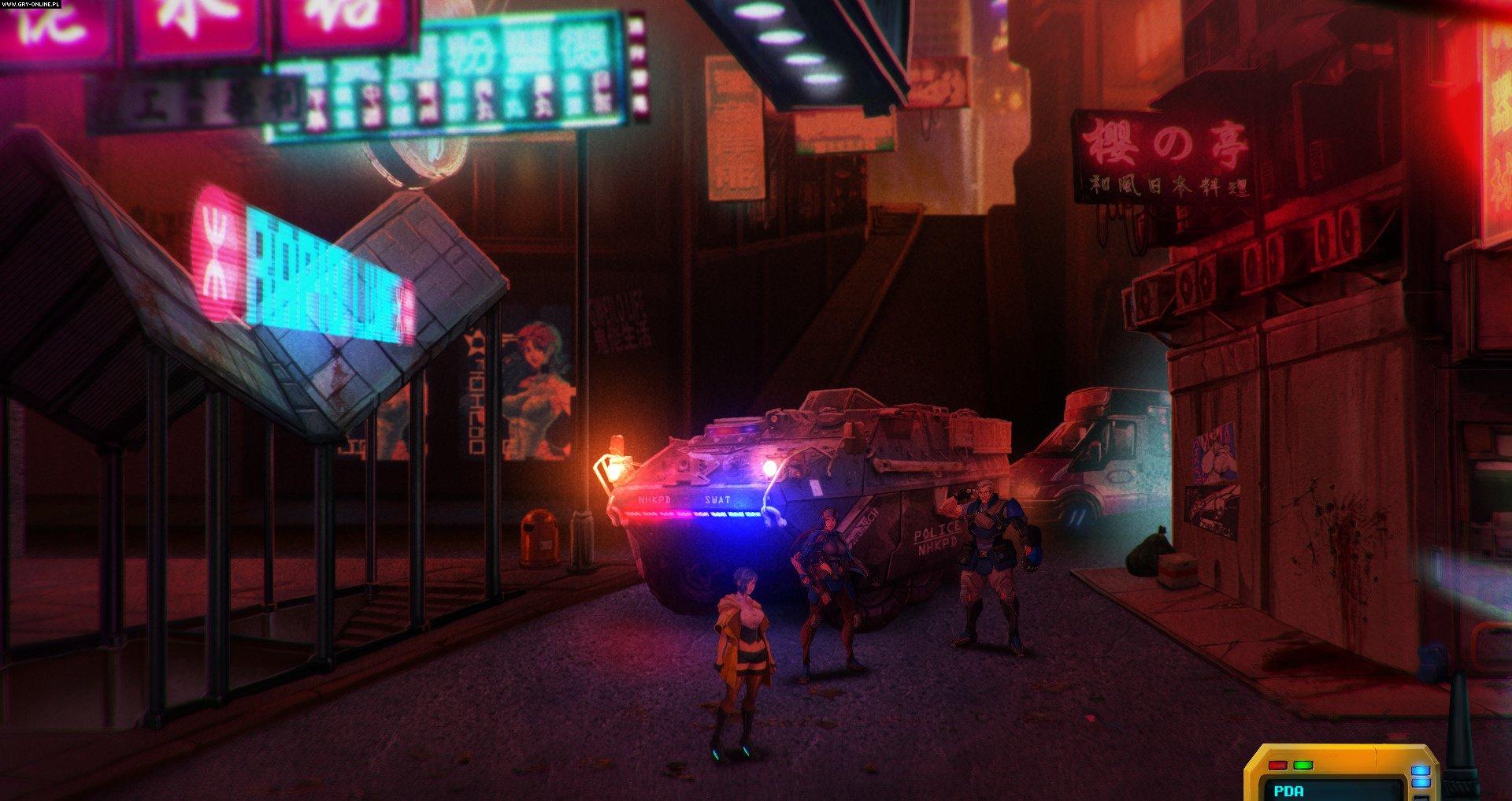 Sense: A Cyberpunk Ghost Story Nintendo Switch gameplay