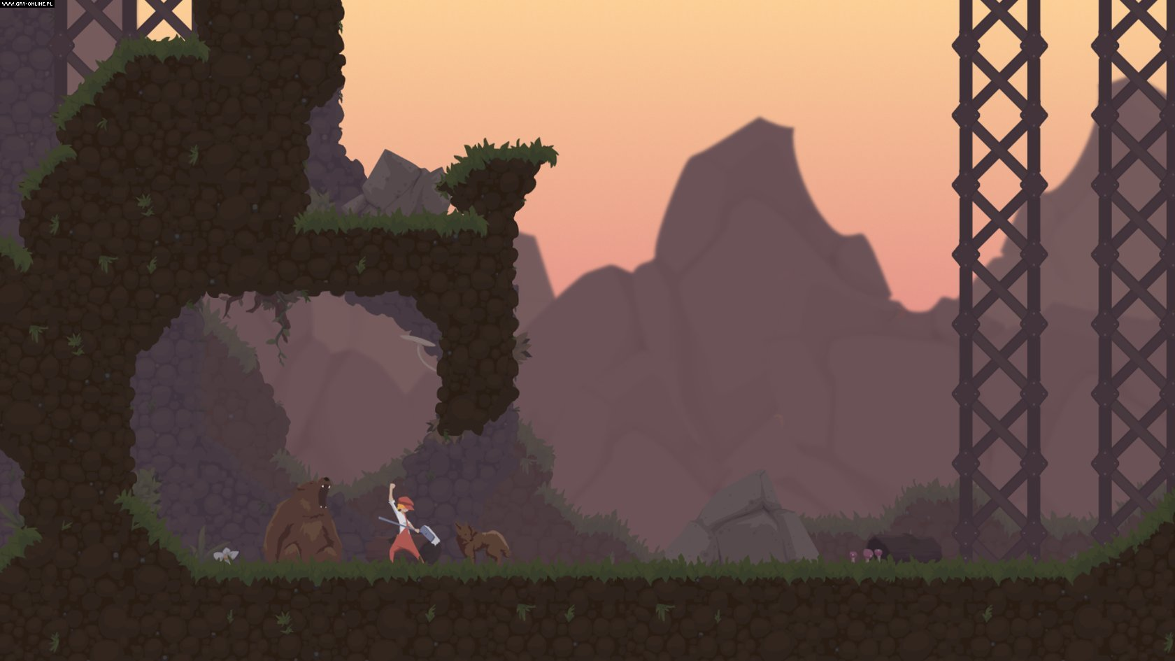 Dustforce PC, X360, PS3, PSV Gry Screen 8/8, Hitbox Team, Digerati Distribution