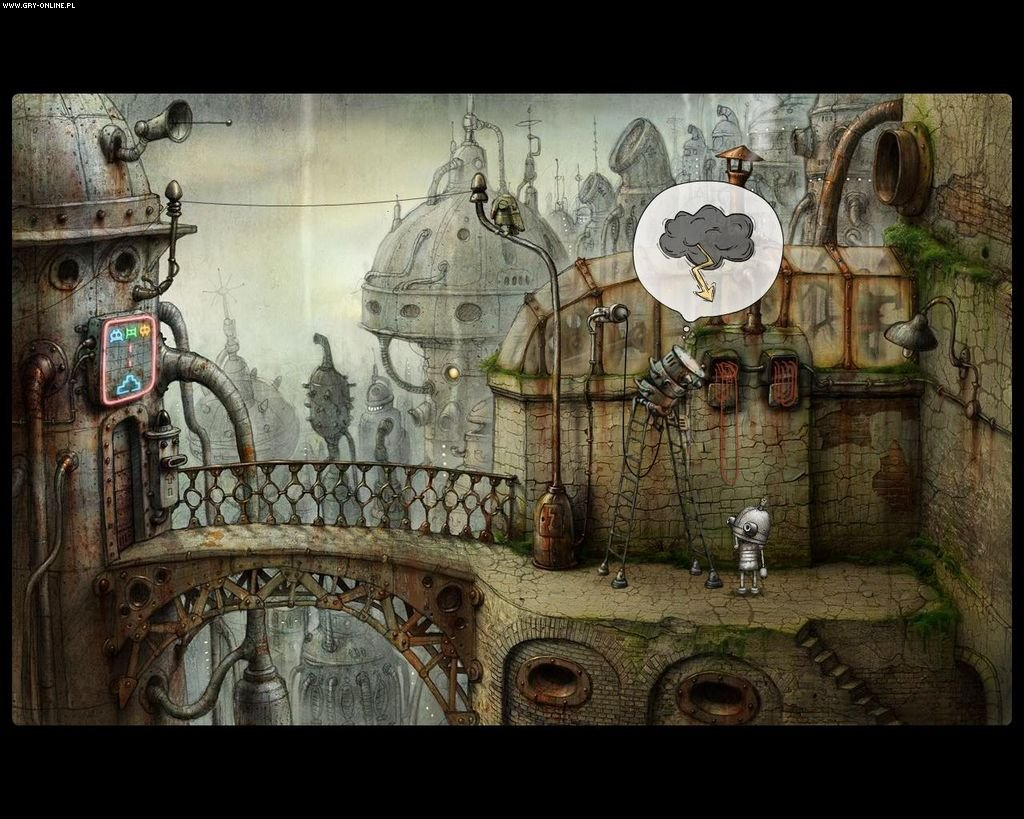 Machinarium PC, PS3, Wii, PSV, PS4, AND, iOS, WP Games Image 5/23, Amanita Design, Daedalic Entertainment