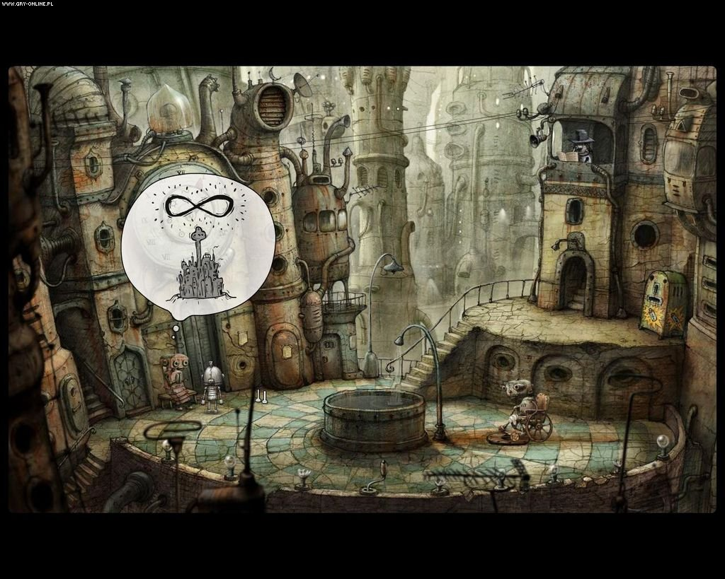 Machinarium PC, PS3, Wii, PSV, PS4, AND, iOS, WP Gry Screen 4/23, Amanita Design, Daedalic Entertainment