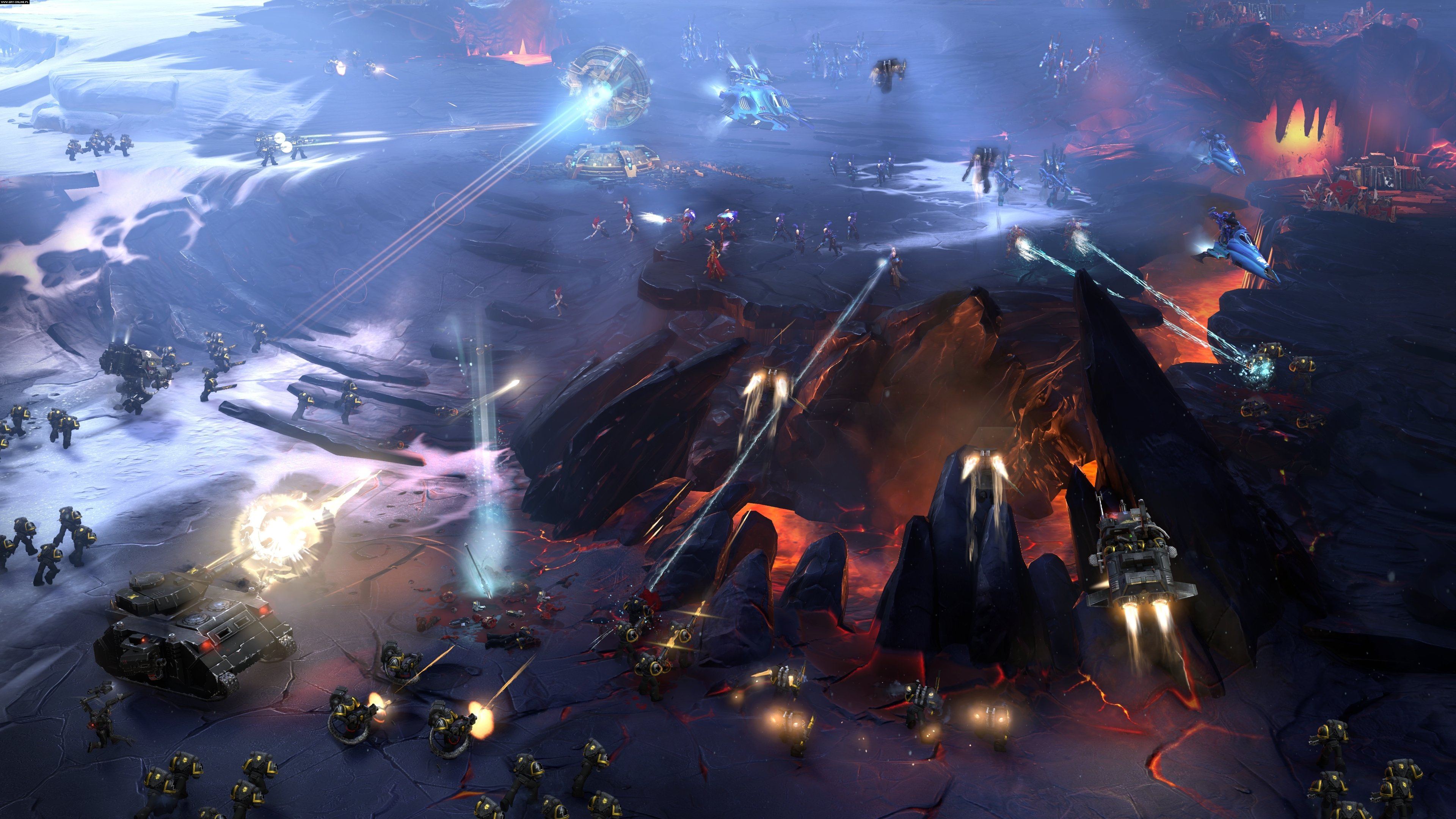 Warhammer 40,000: Dawn of War III PC Gry Screen 4/32, Relic Entertainment, SEGA