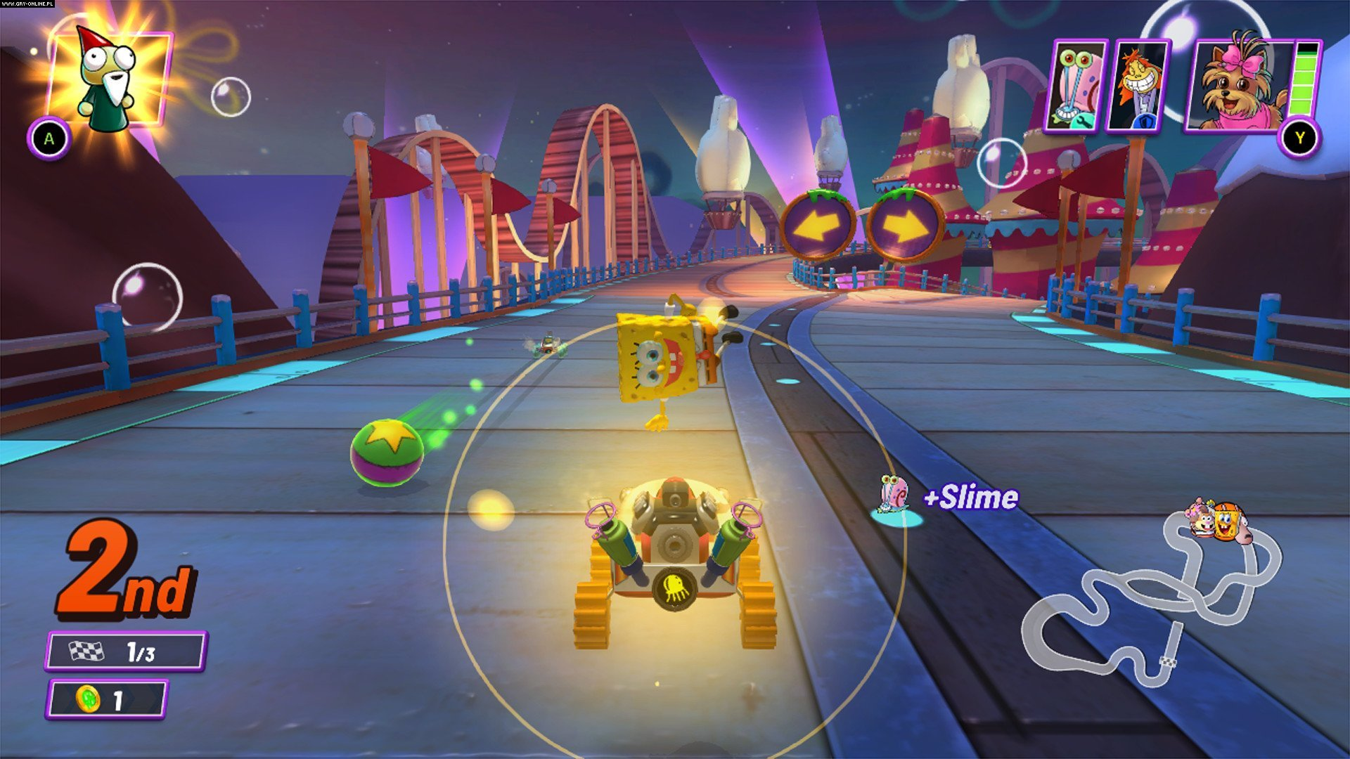Nickelodeon Card Racers 2: Grand Prix-gameplay,