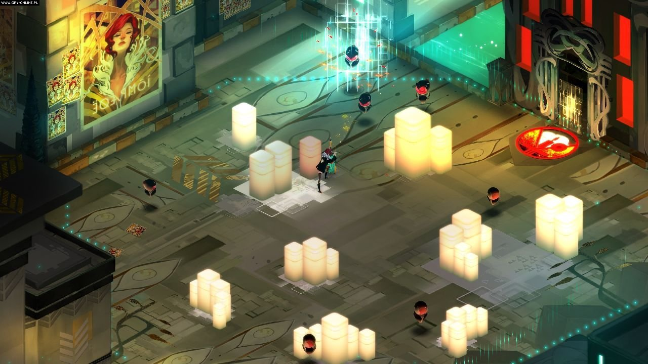 Transistor PC, Switch Gry Screen 4/7, Supergiant Games