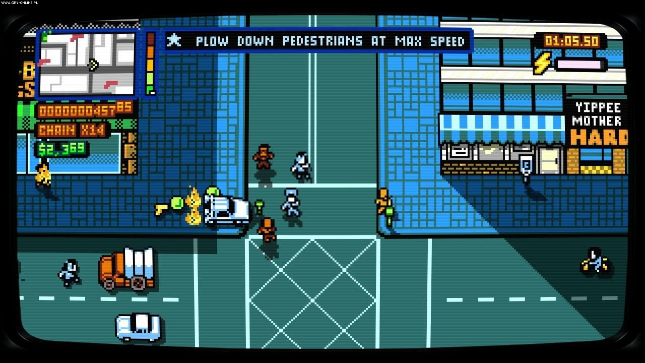 Retro City Rampage: DX PC, X360, PS3, Wii, 3DS, PSV, PS4, Switch Games Image 4/19, Vblank Entertainment Inc.