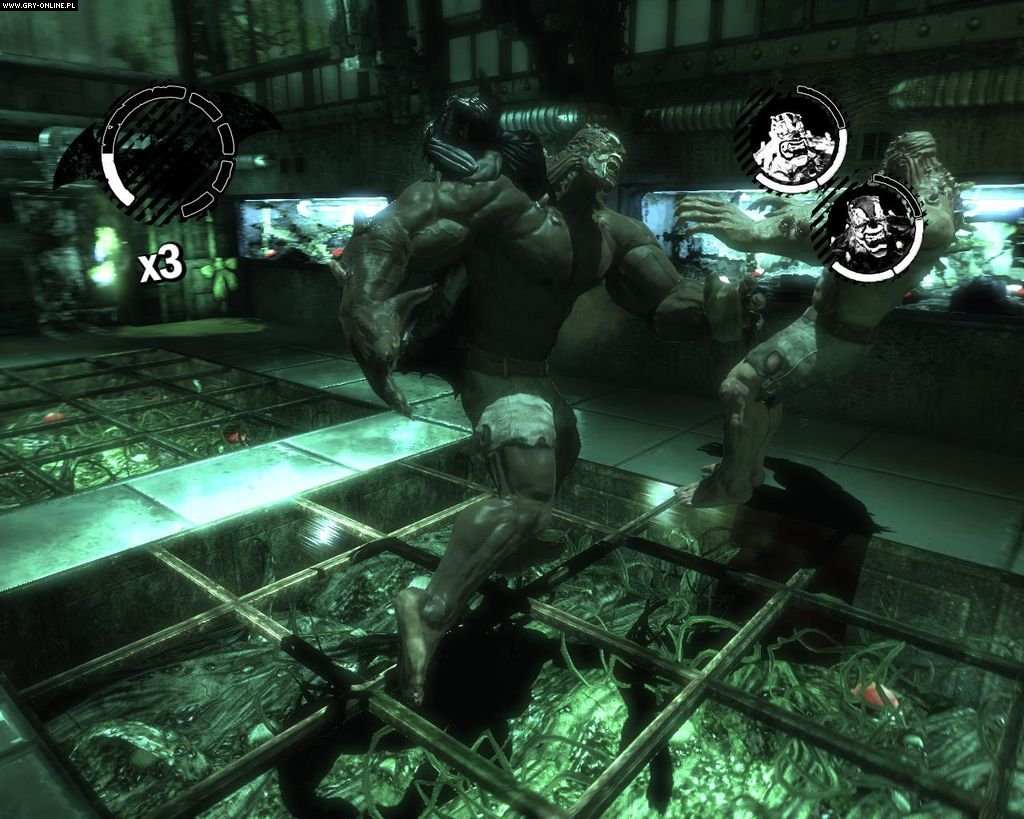 Batman: Arkham Asylum PC Gry Screen 9/183, Rocksteady Studios, Square-Enix / Eidos