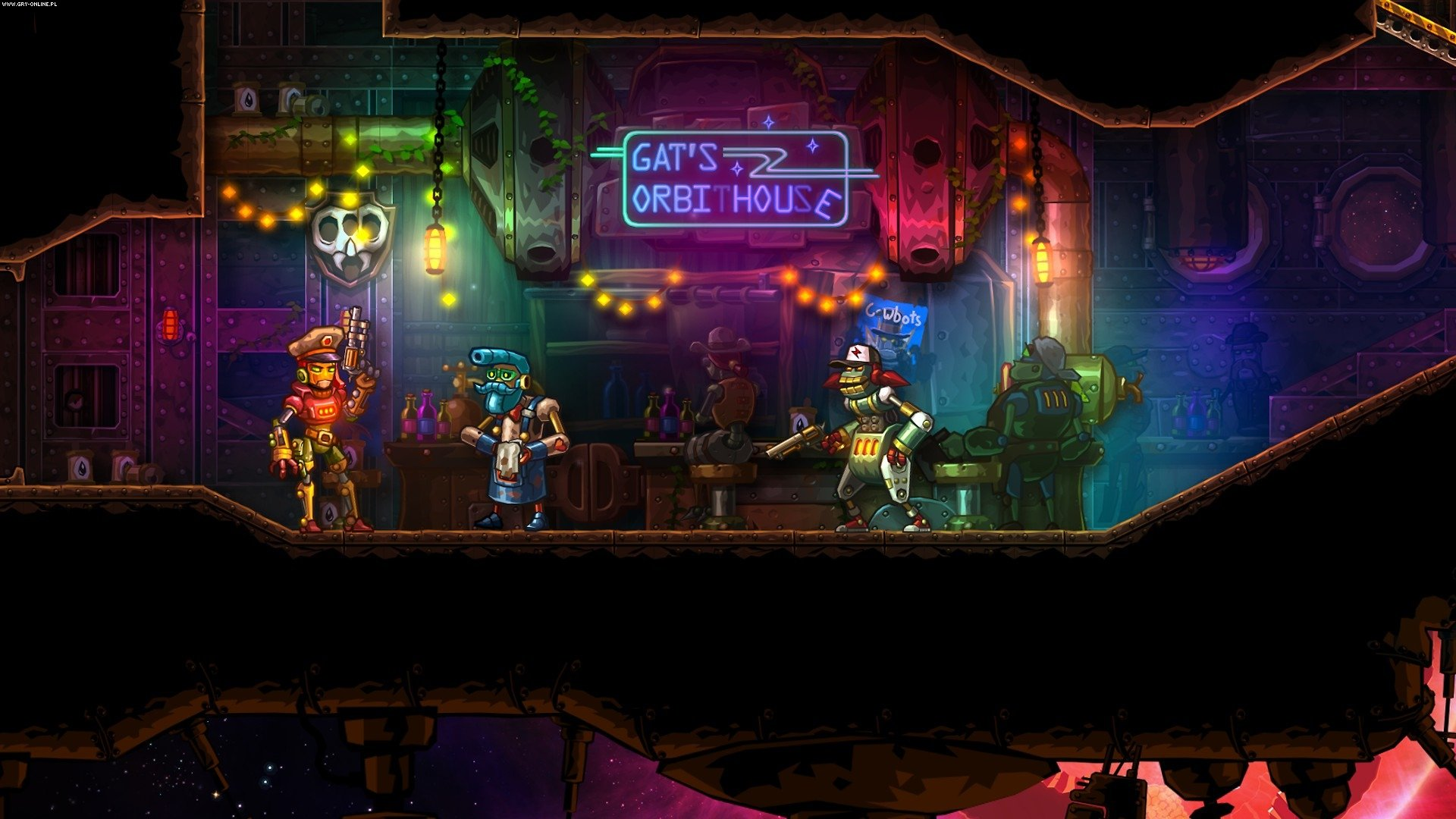 SteamWorld Heist PC, 3DS, PSV, WiiU, PS4, XONE, Switch Gry Screen 8/12, Image & Form