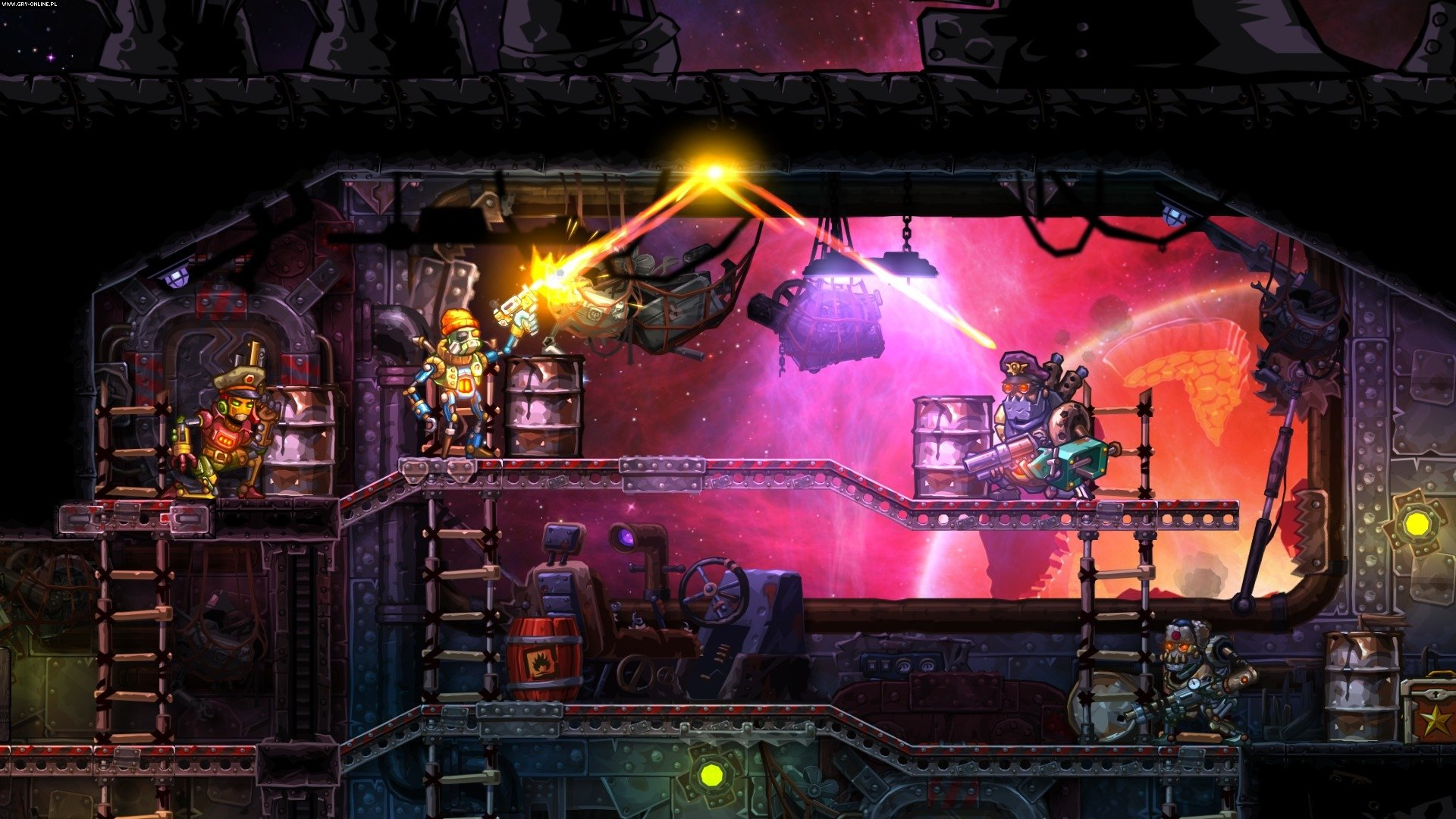SteamWorld Heist PC, 3DS, PSV, WiiU, PS4, XONE, Switch Gry Screen 1/12, Image & Form
