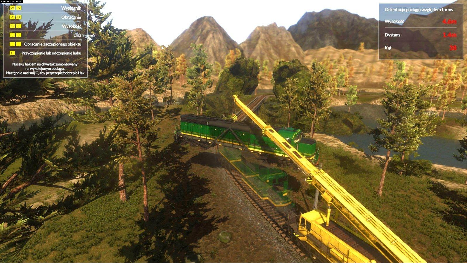 Train Mechanic Simulator 2017 PC Games Image 4/38, Si7 Studio, PlayWay