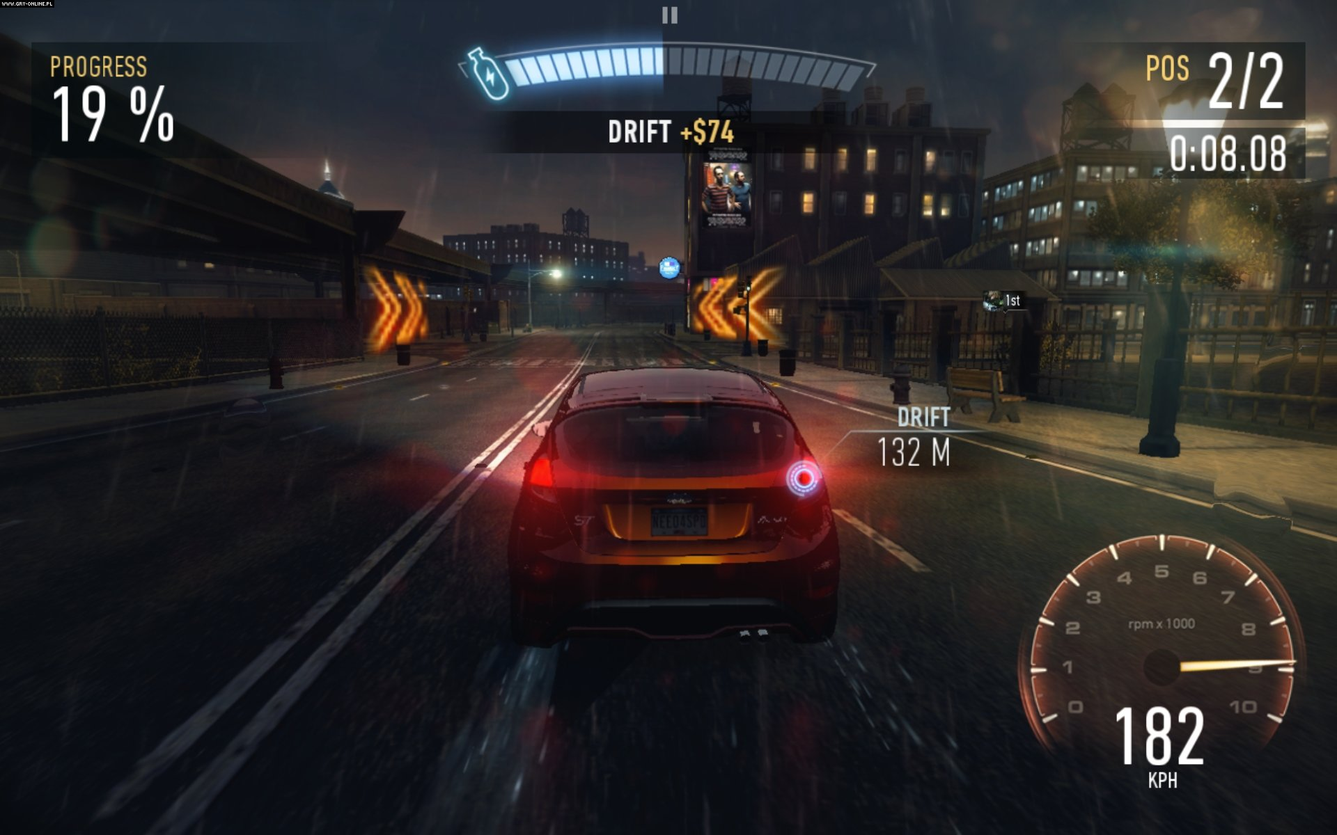 Need for Speed: No Limits iOS, AND Gry Screen 2/11, Firemonkeys, Electronic Arts Inc.