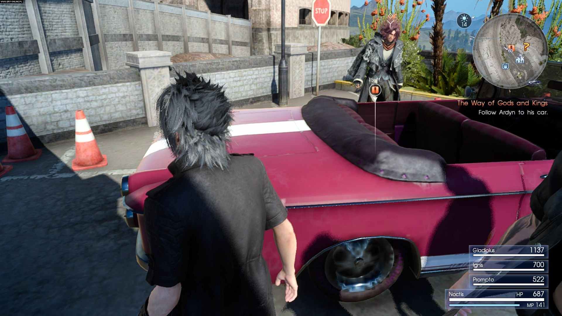 Final Fantasy XV PS4, XONE Gry Screen 67/393, Square-Enix / Eidos