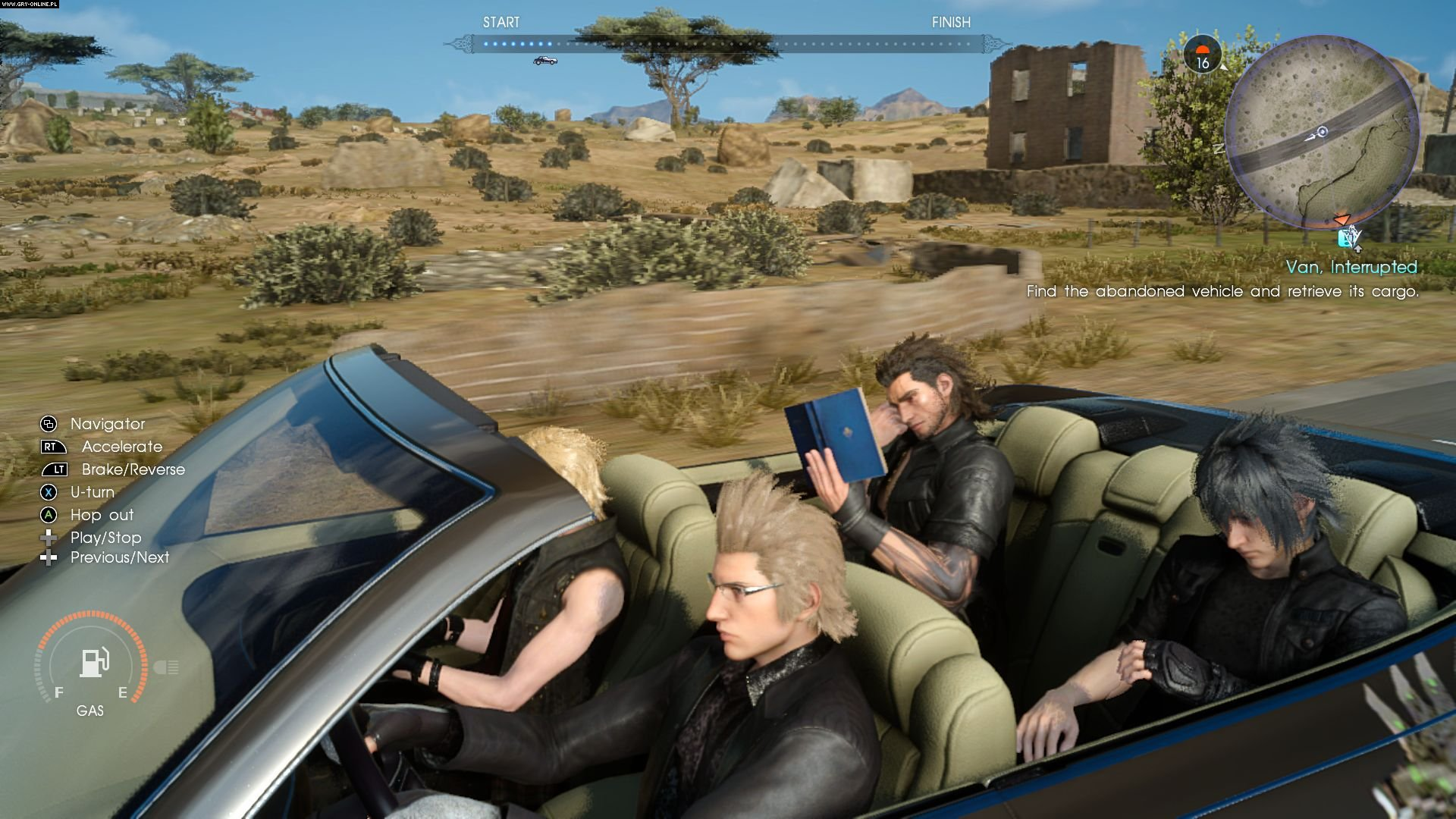 Final Fantasy XV PS4, XONE Gry Screen 64/393, Square-Enix / Eidos