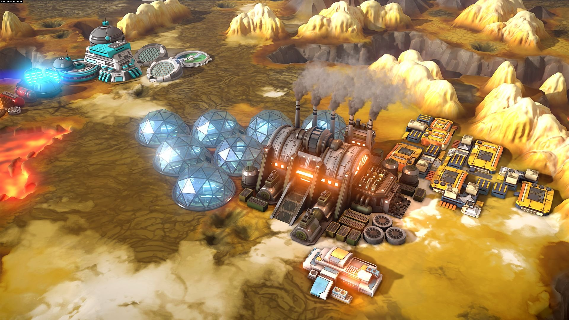 Offworld Trading Company: Jupiter's Forge PC Games Image 5/5, Mohawk Games, Stardock Corporation