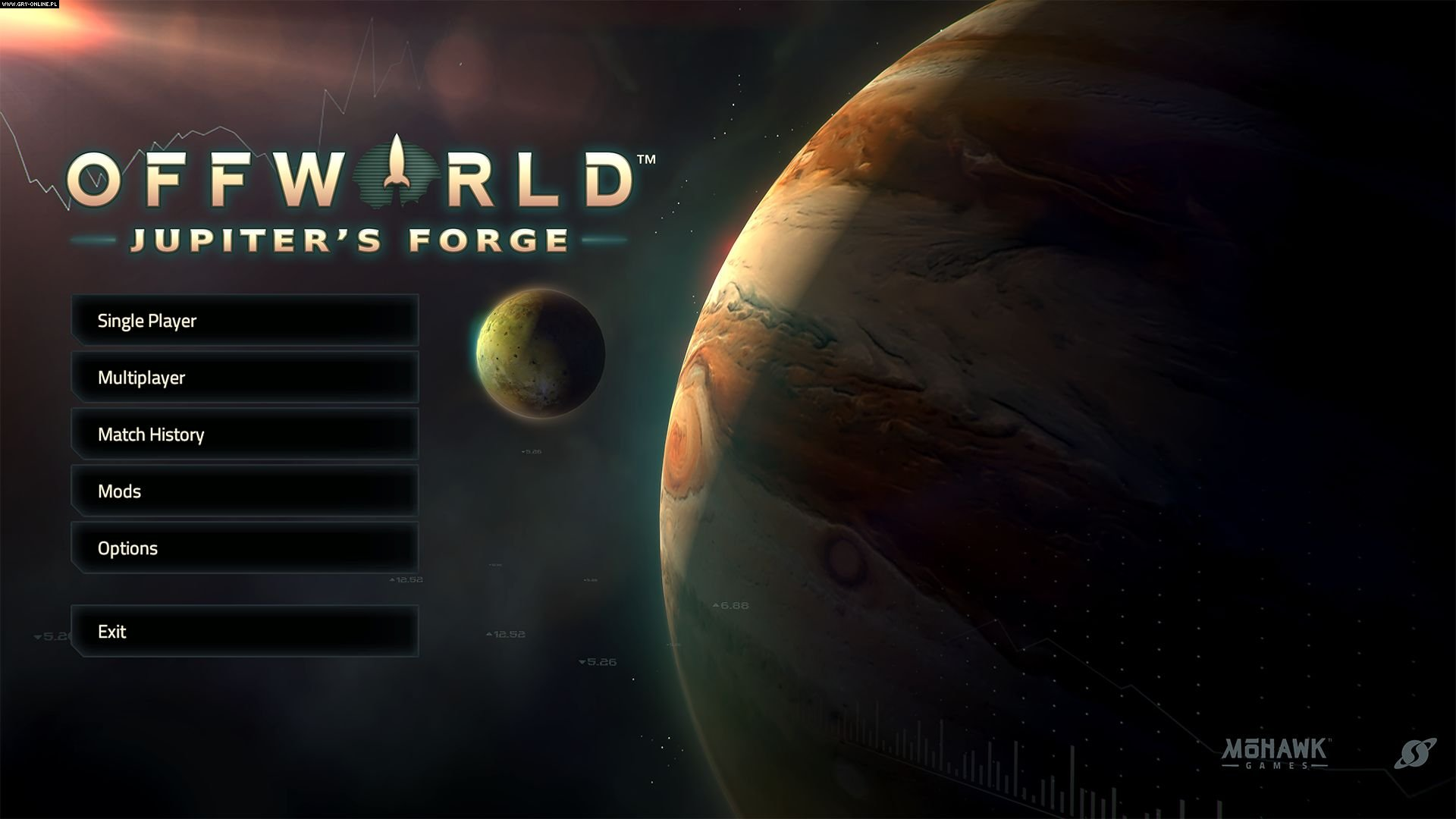 Offworld Trading Company: Jupiter's Forge PC Gry Screen 1/5, Mohawk Games, Stardock Corporation