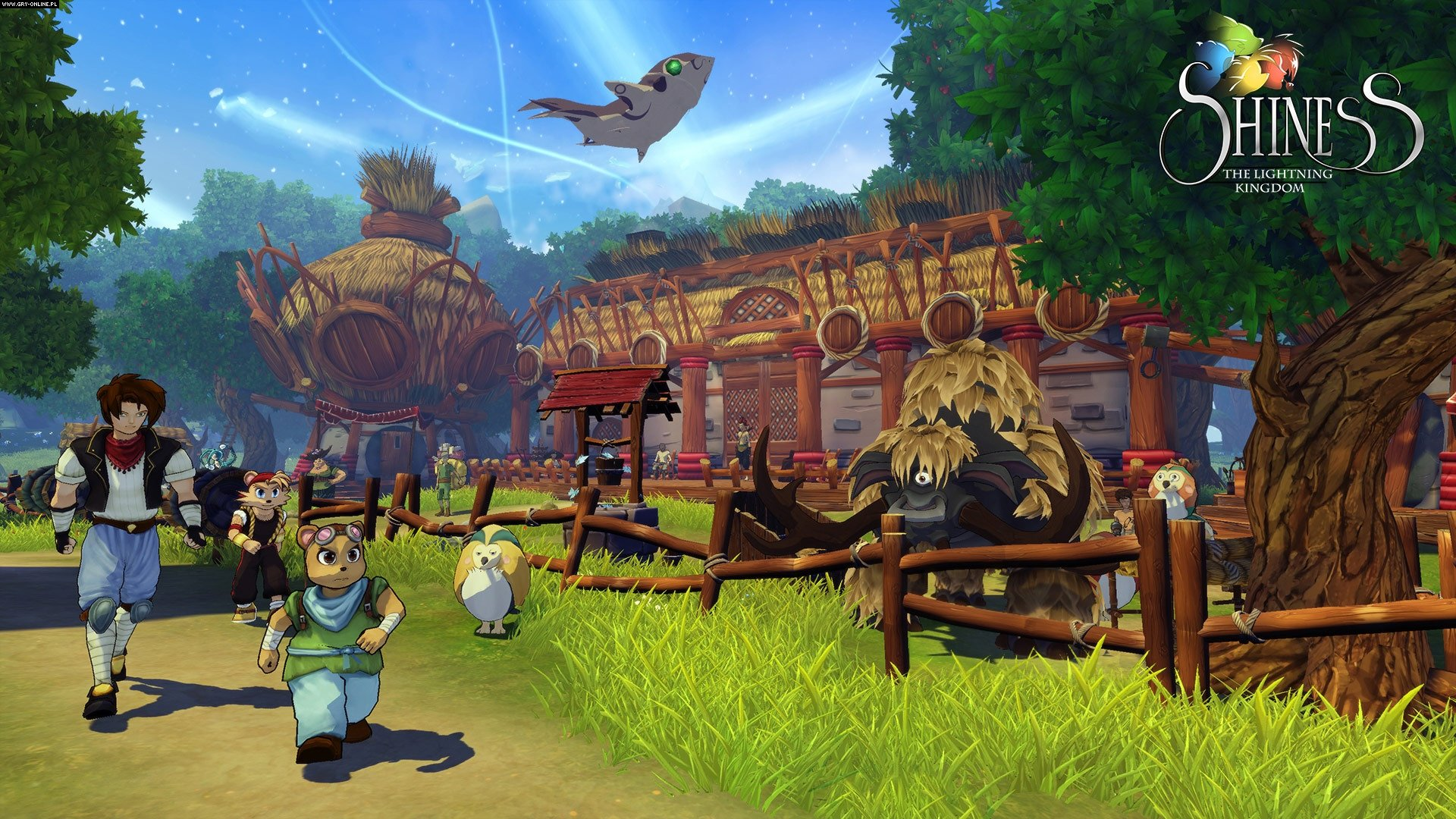 Shiness: The Lightning Kingdom XONE, PS4, PC, WiiU Games Image 5/12, Enigami, Focus Home Interactive