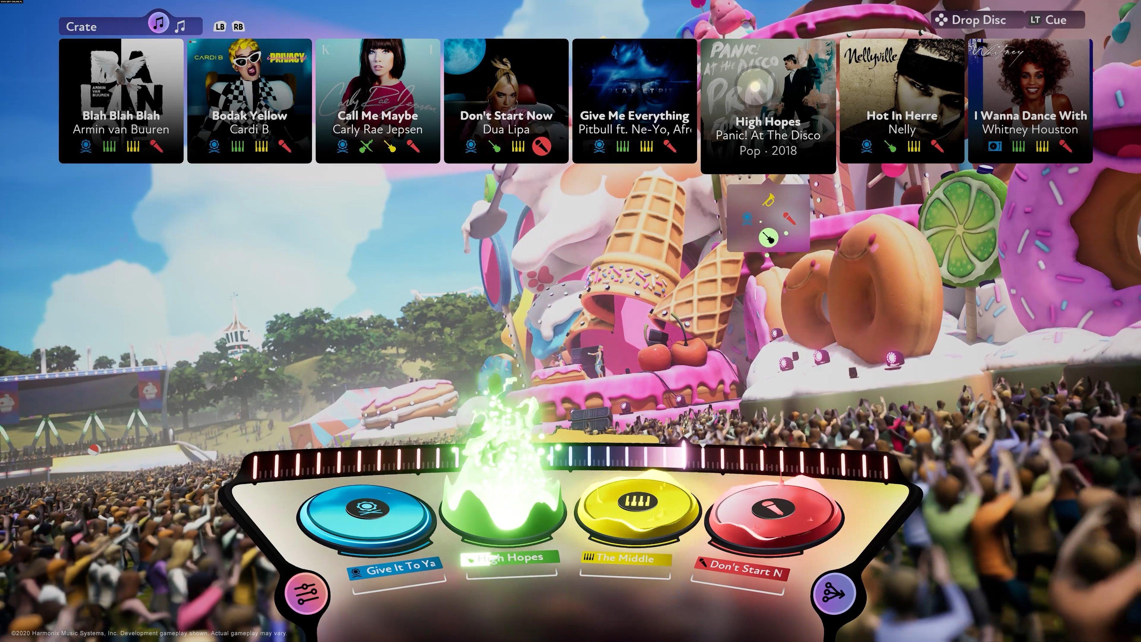 FUSER PC GAME-gameplay