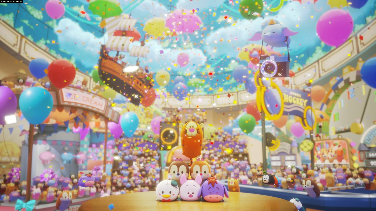 Disney Tsum Tsum Festival Switch Games Image 3/6, B.B. Studio, Bandai Namco Entertainment