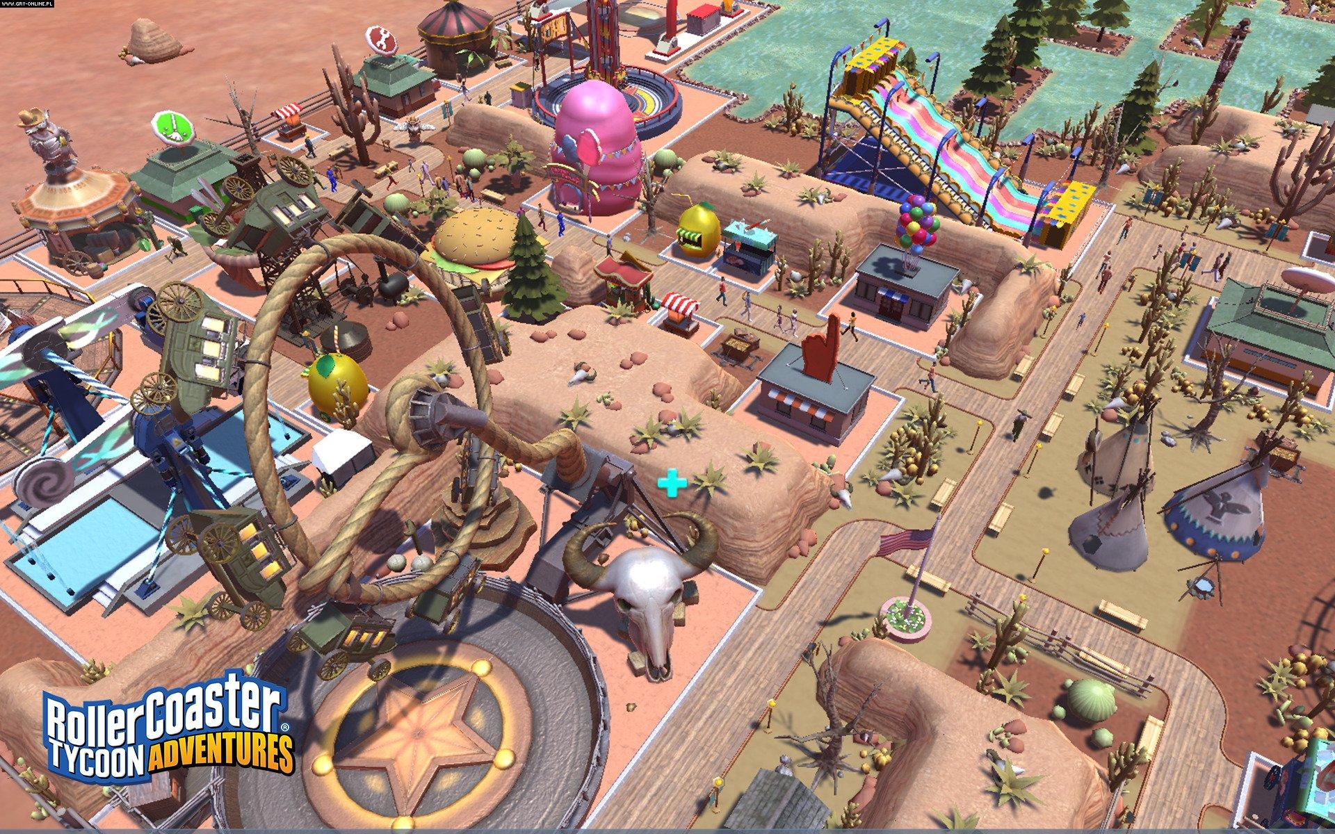 RollerCoaster Tycoon Adventures - screenshots gallery
