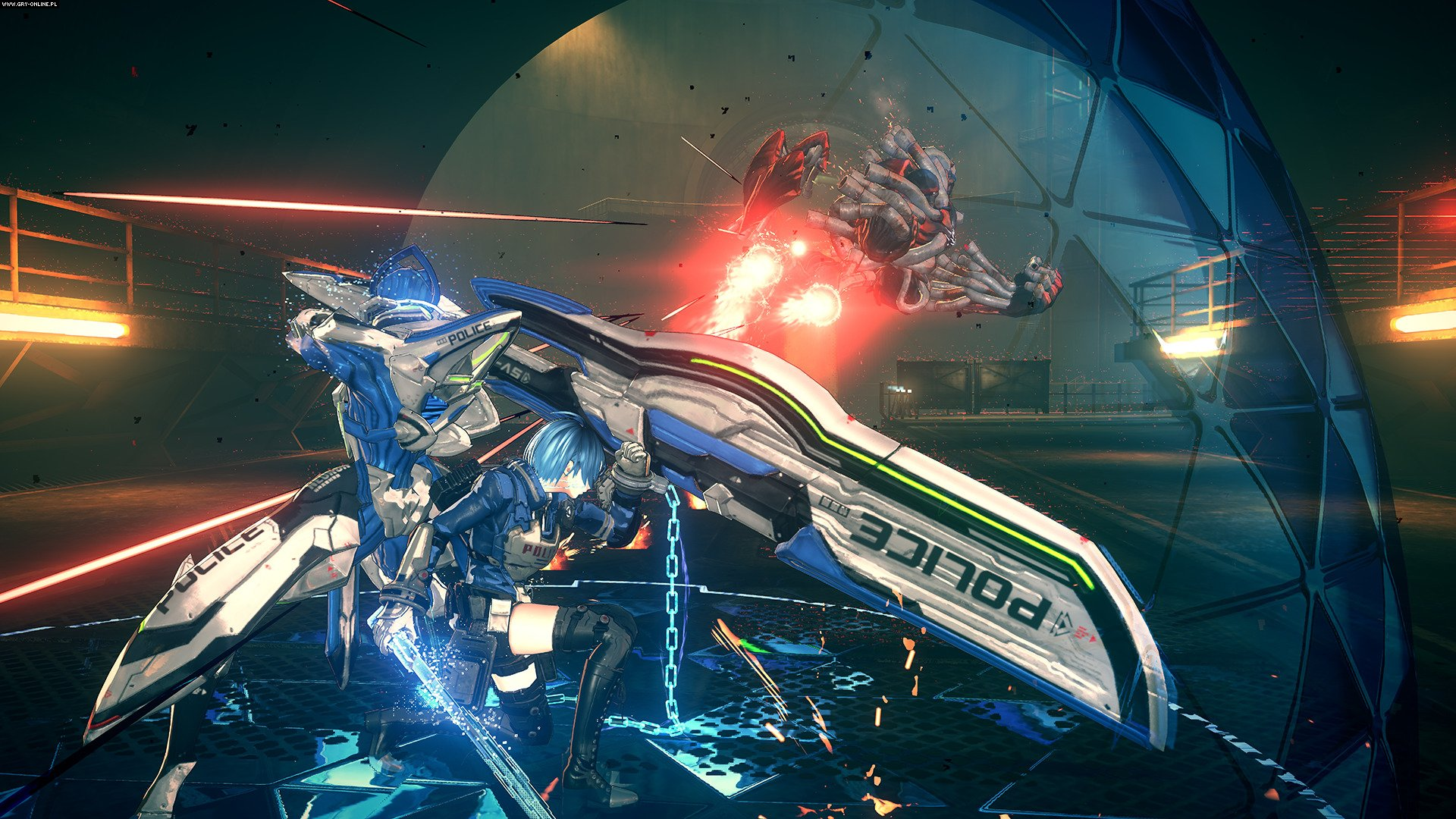 Astral Chain Switch Games Image 14/55, PlatinumGames, Nintendo