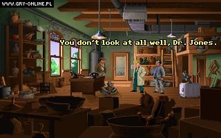 Indiana Jones and The Fate of Atlantis PC Gry Screen 2/20, LucasArts