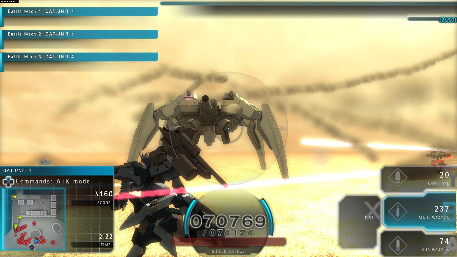 Assault Gunners HD Edition PC, PS4, Switch Gry Screen 3/9, Shade Inc., Marvelous Interactive