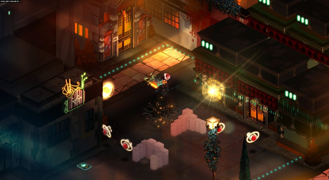 Transistor PC, Switch Gry Screen 2/7, Supergiant Games