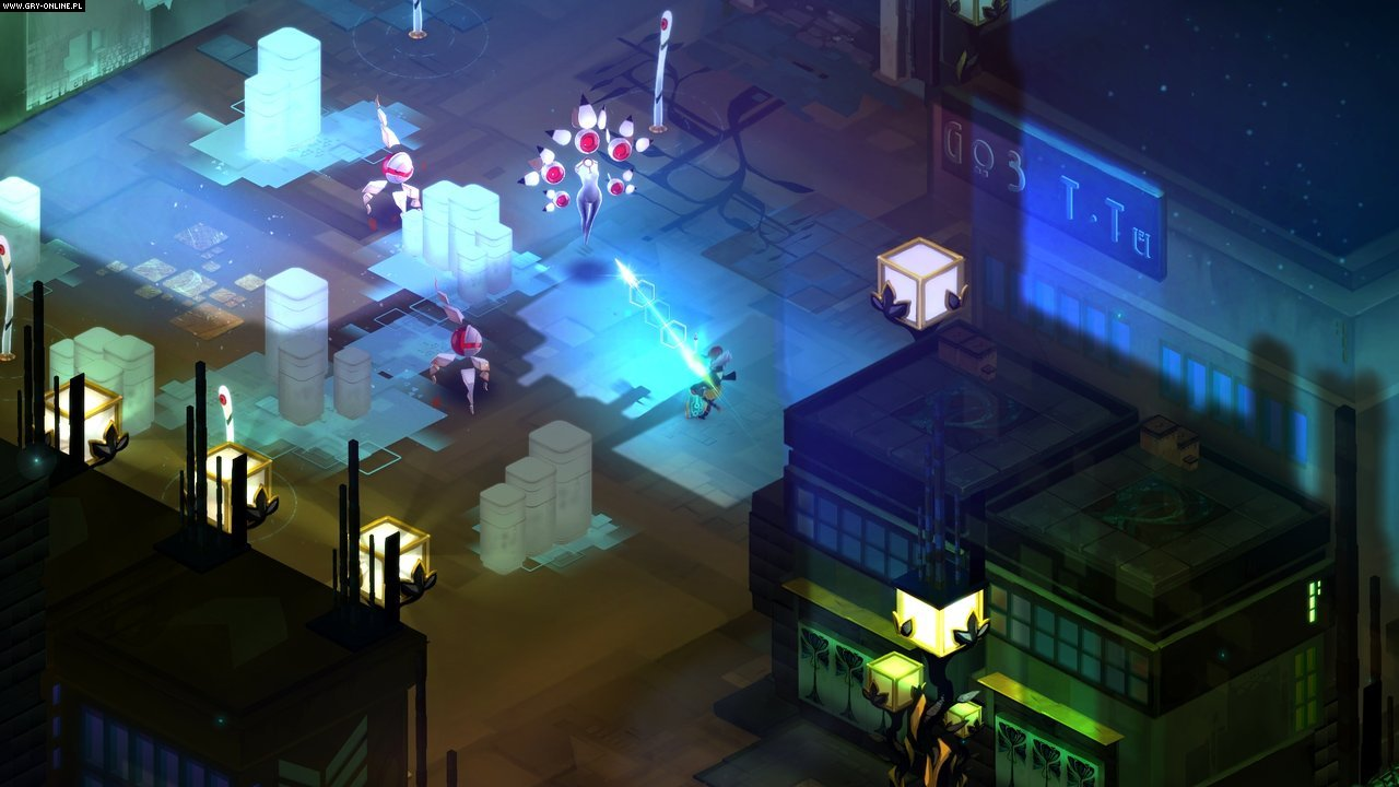 Transistor PC, Switch Gry Screen 1/7, Supergiant Games