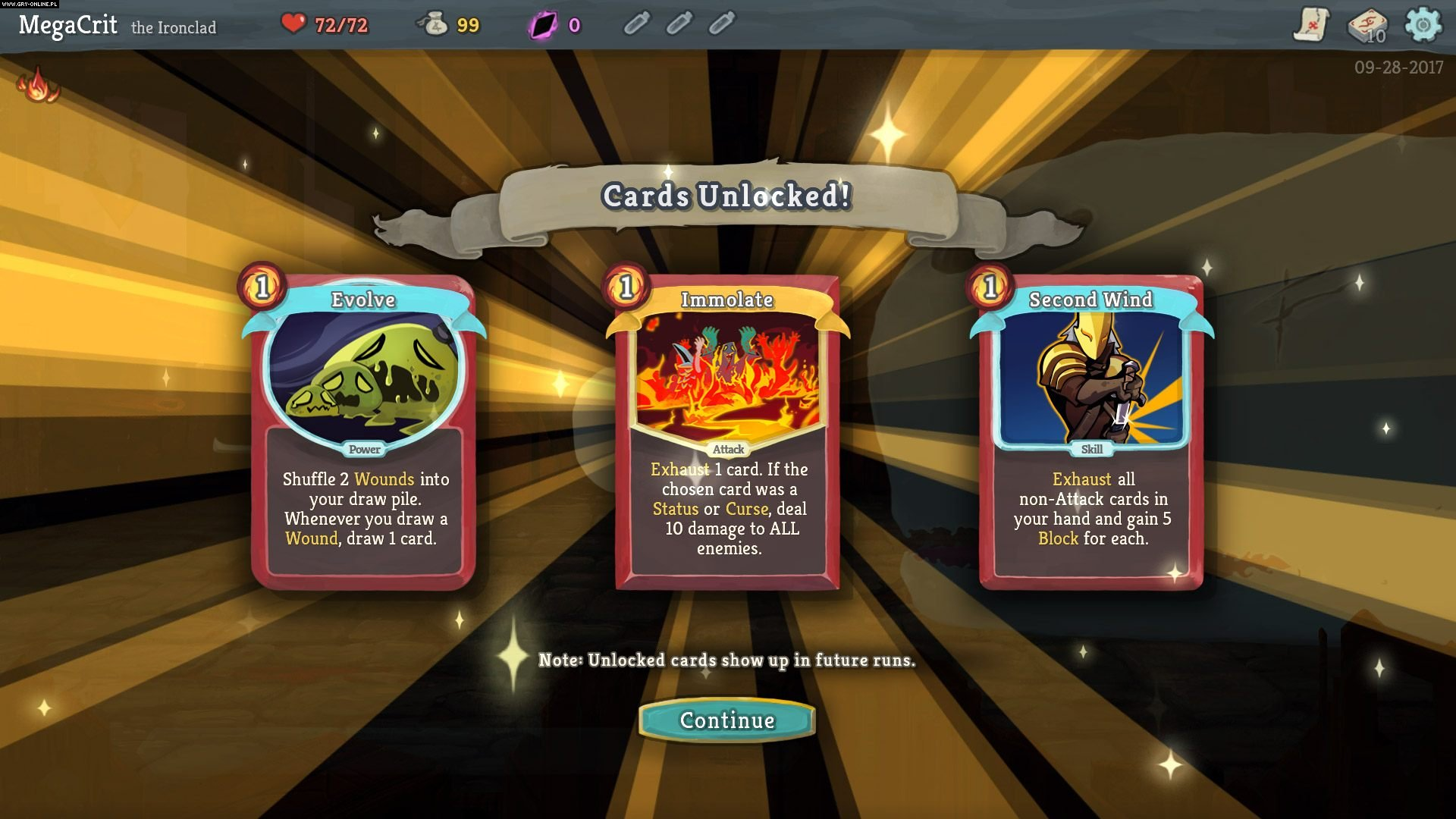 Slay the Spire PC, Switch Games Image 15/20, Mega Crit