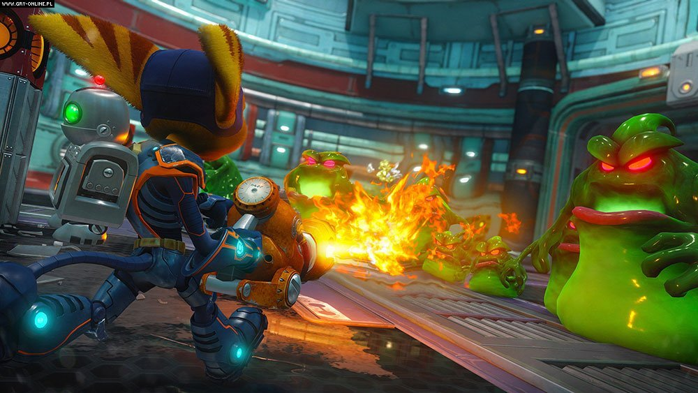 Ratchet & Clank PS4 Gry Screen 10/15, Insomniac Games, Sony Interactive Entertainment