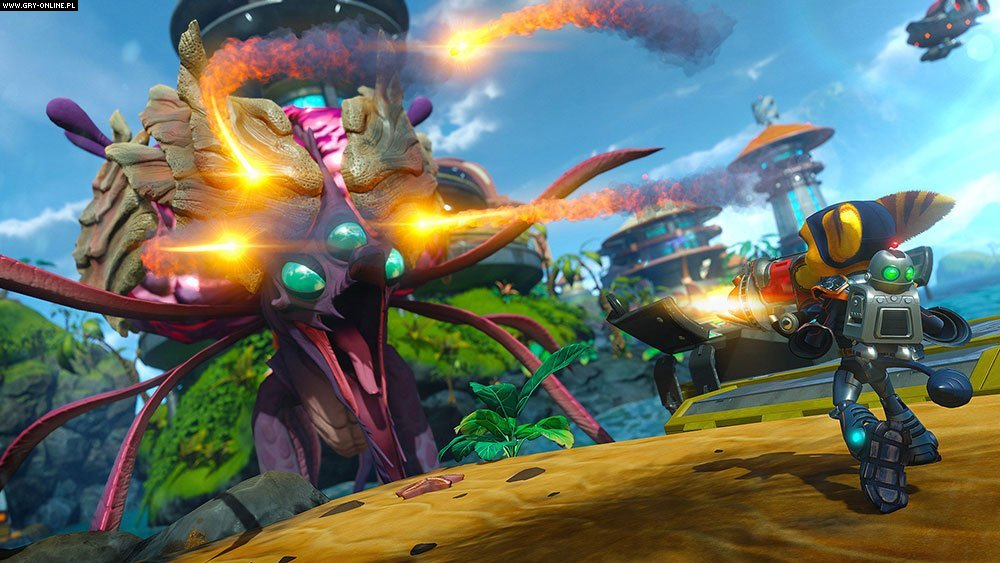 Ratchet & Clank PS4 Gry Screen 9/15, Insomniac Games, Sony Interactive Entertainment