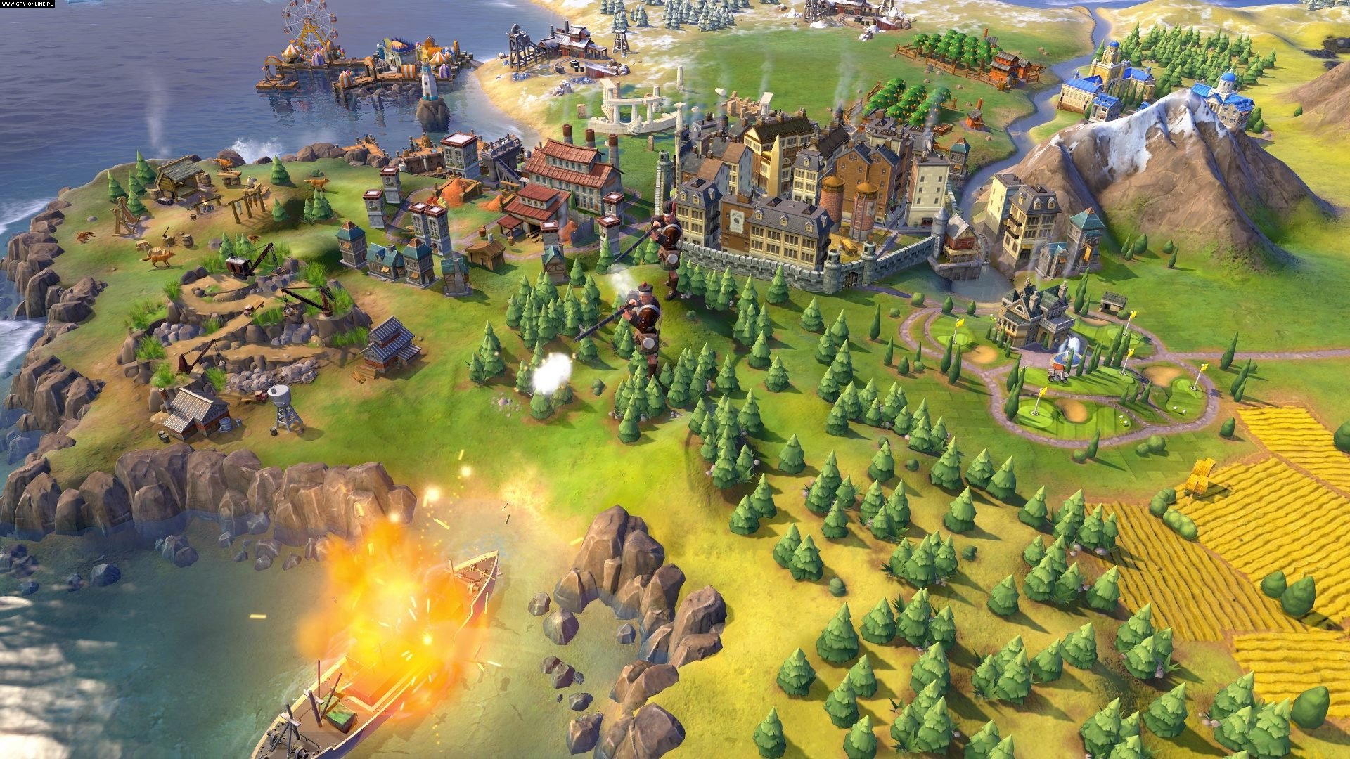 Sid Meier's Civilization VI: Rise and Fall PC Gry Screen 1/19, Firaxis Games, 2K Games