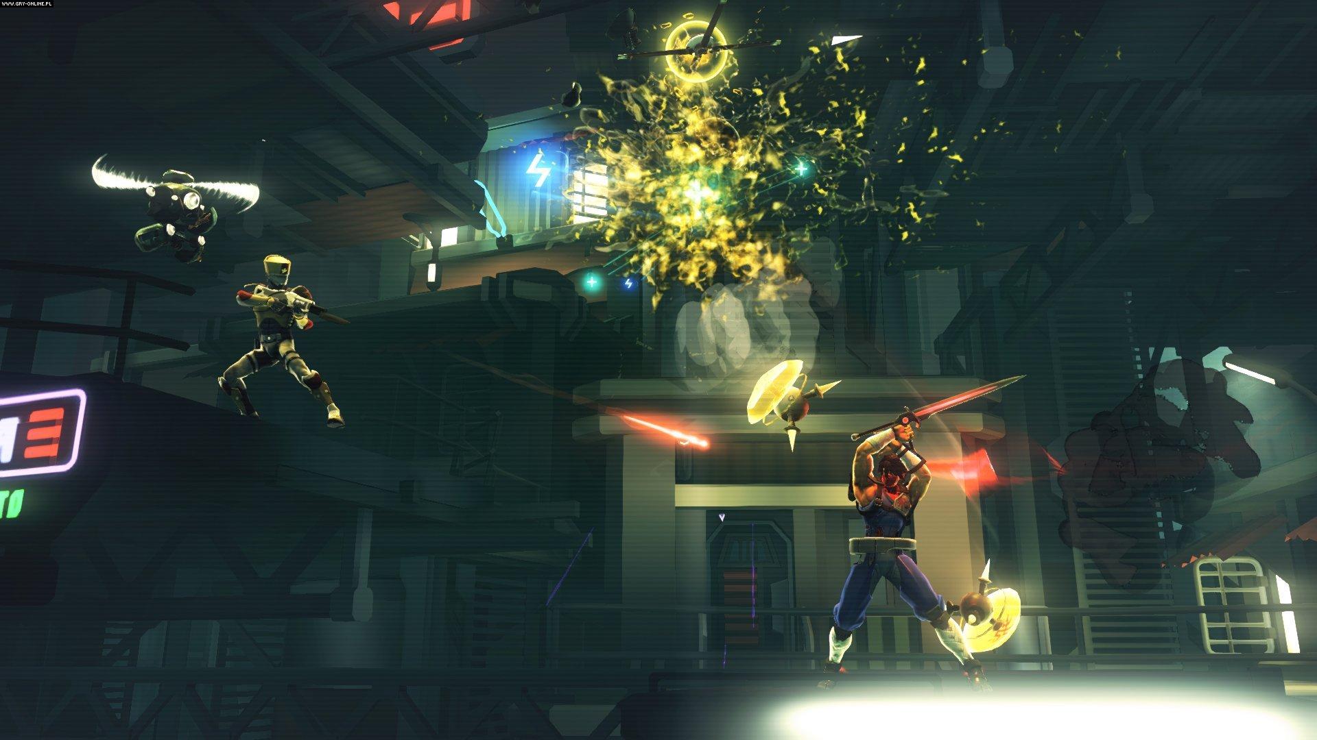 Ps4 Games Science Fiction : Strider screenshots gallery screenshot