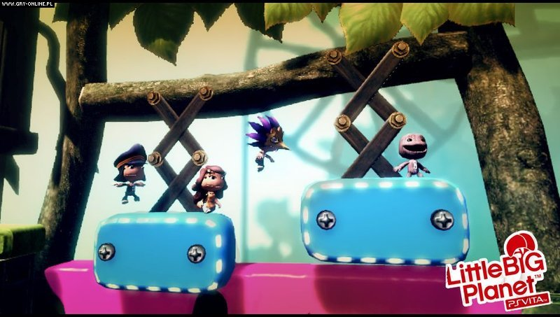 LittleBigPlanet PSV Gry Screen 2/99, Media Molecule, Sony Interactive Entertainment