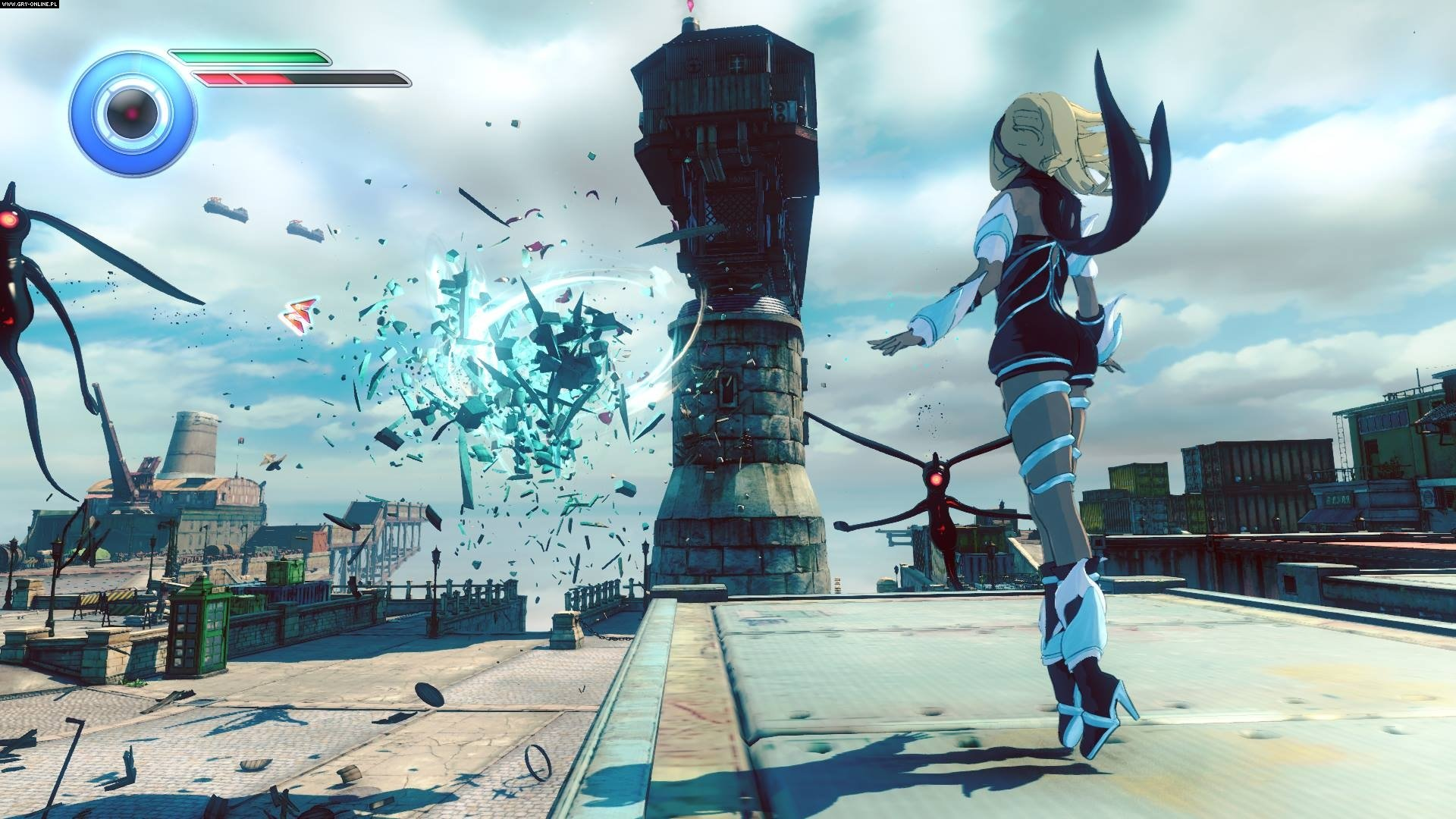 Gravity Rush 2 PS4 Gry Screen 9/60, Sony Interactive Entertainment