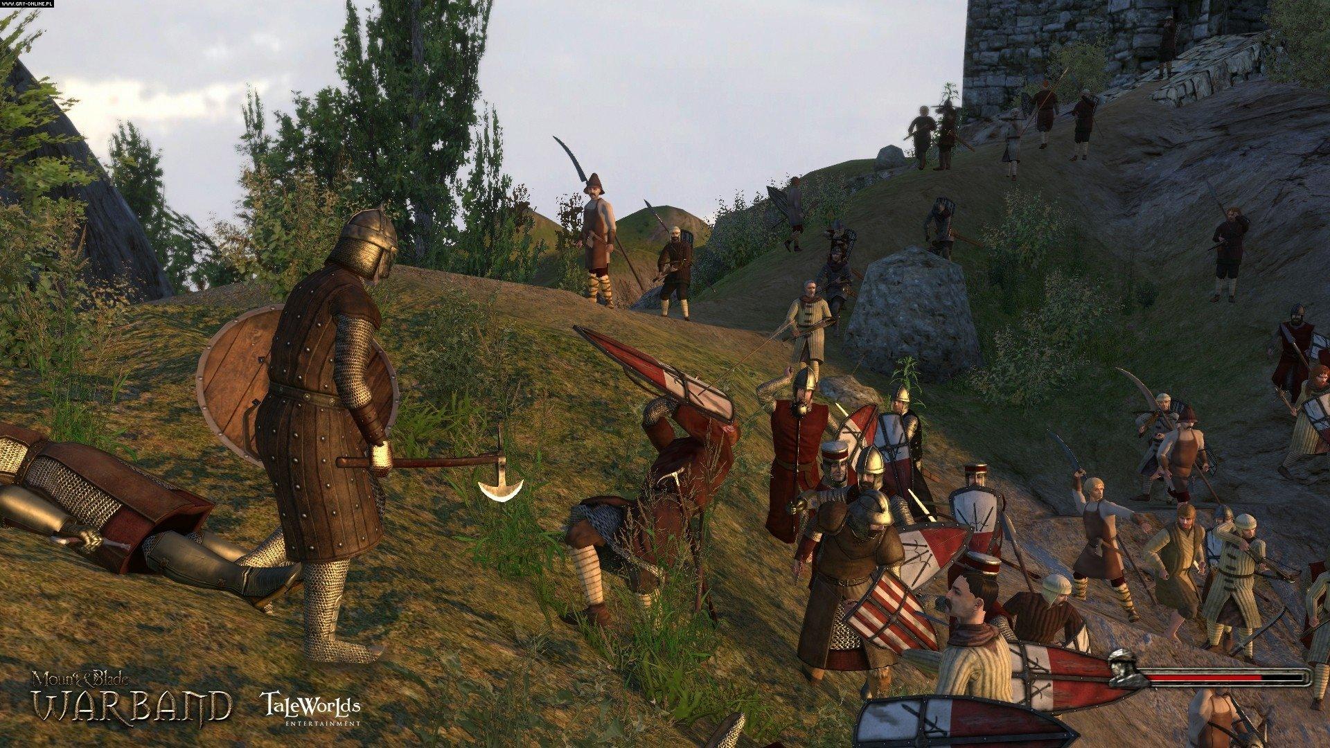 Mount & Blade: Warband PS4, XONE Gry Screen 1/79, TaleWorlds, Paradox Interactive