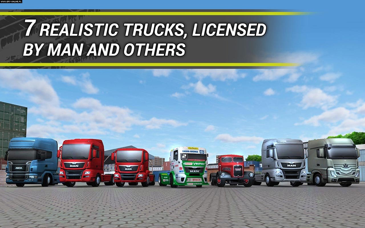 TruckSimulation 16 iOS, AND Gry Screen 3/3, astragon Entertainment
