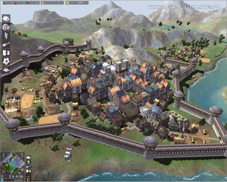 Build And Defend A Town Game