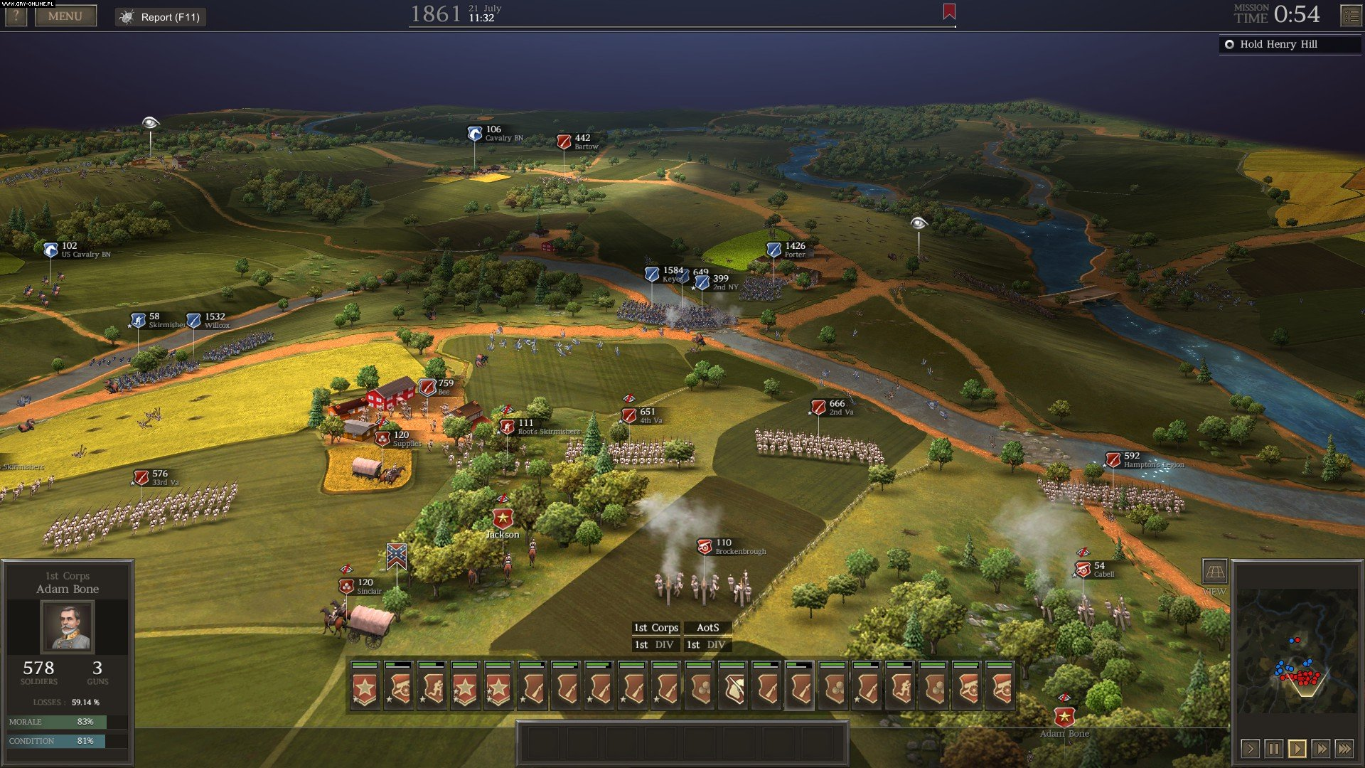 Ultimate General: Civil War PC Games Image 2/30, Game-Labs