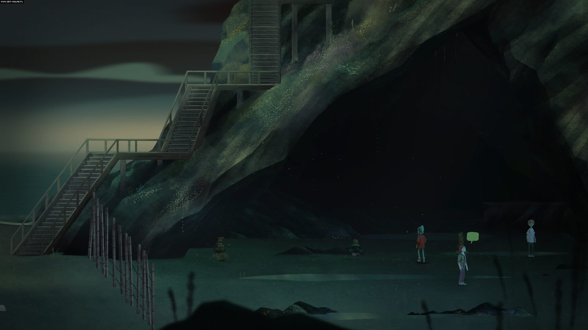 Oxenfree PC, PS4, XONE, iOS, Switch Gry Screen 1/54, Night School Studio