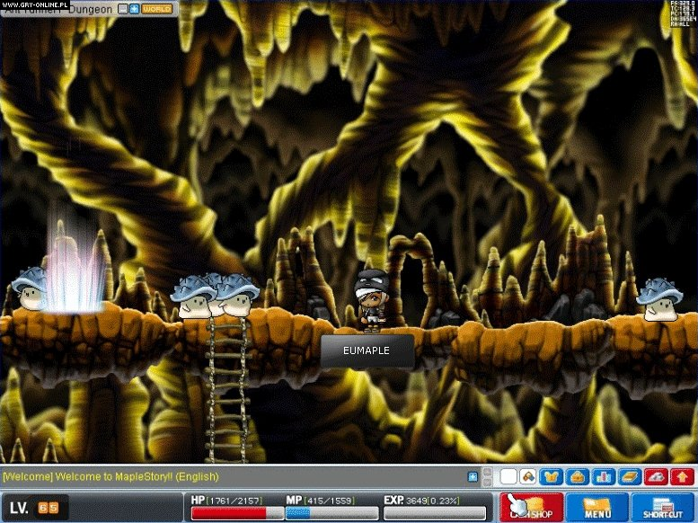 MapleStory PC Gry Screen 2/18, Wizet, Nexon Inc.