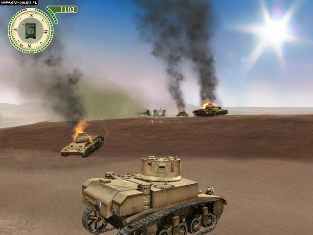Tank Combat PC Gry Screen 1/7, Crazy House, CI Games / City Interactive