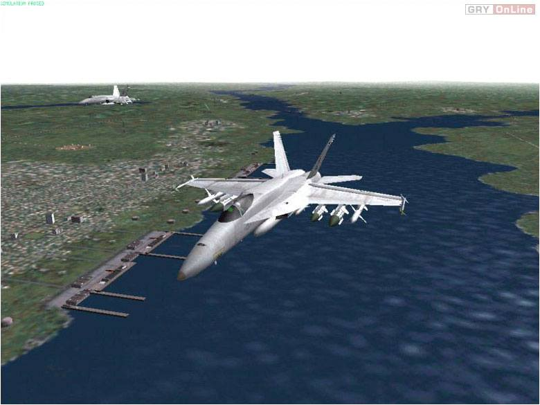 Jane's F/A-18 Super Hornet PC Gry Screen 8/9, Jane's Combat Simulations, Electronic Arts Inc.
