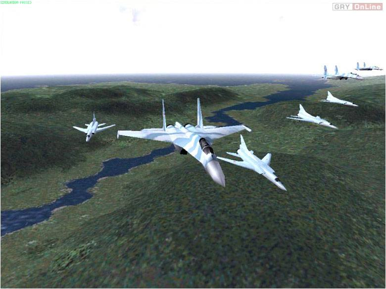 Jane's F/A-18 Super Hornet PC Gry Screen 2/9, Jane's Combat Simulations, Electronic Arts Inc.