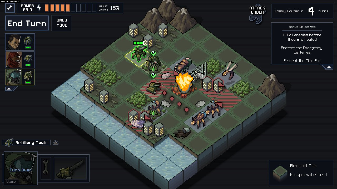 Into the Breach PC Gry Screen 8/11, Subset Games